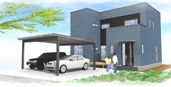 新築戸建 南区元三町の外観写真