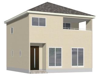 新築戸建 東区新外 第3(Ⅱ期) 4号棟の外観写真